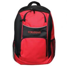 Struddys Basic Platnium Backpack Black/Red