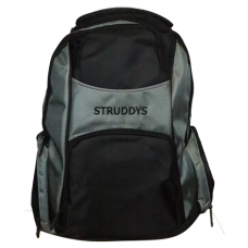 Struddys Platinum Back Pack Black/Grey