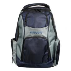 Struddys Platnium Back Pack Navy/Grey
