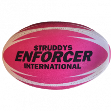 Enforcer Rugby League Ball - Pink Size 5