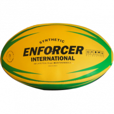 Enforcer Rugby League Ball - Green Size 5