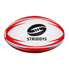 Enforcer Rugby League Ball - Red Size 5