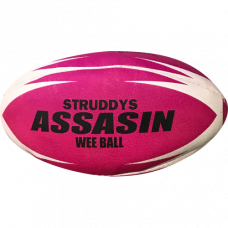 Assassin Rugby League Ball Pink
