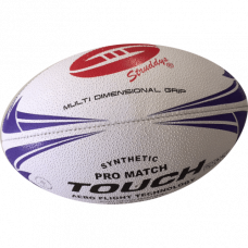 Struddys Touch Match Ball -  White/Blue