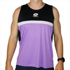 Glory Singlet Purple & Black