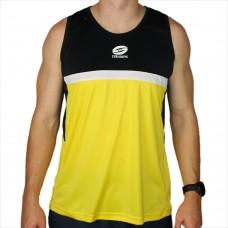 Glory Singlet Yellow & Black