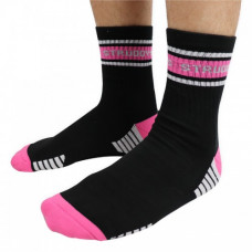 Struddys Crew Sock Black/Pink/White