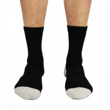 Struddys Crew Socks -SBALL -Black/White