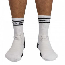 Struddys Crew Socks -Text -White/Black